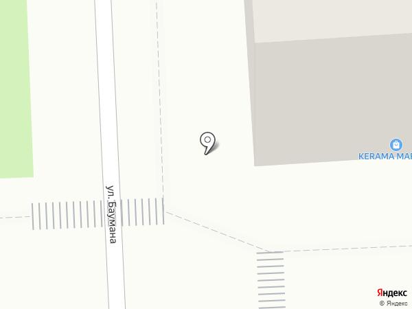 Керама Марацци на карте Красноярска