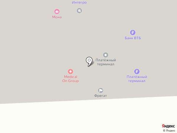 АТАКА на карте Красноярска