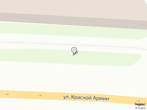 Гринкарта на карте Красноярска