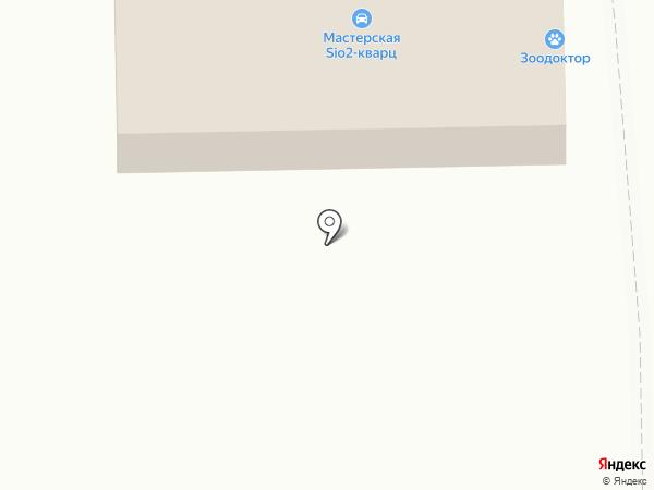 Нанжуль Моторс на карте Красноярска