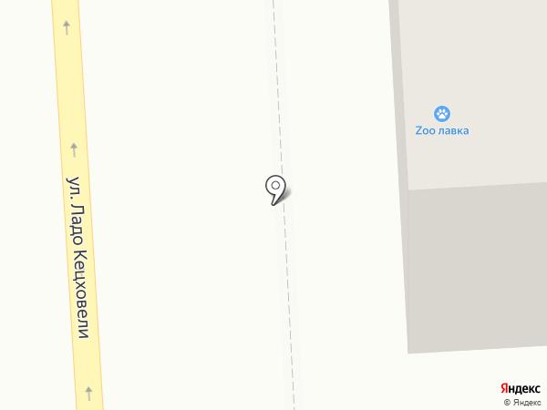 Кружка на карте Красноярска