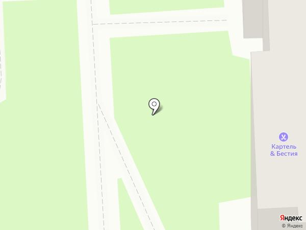 Картель на карте Красноярска