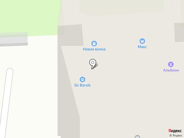 Афина на карте Красноярска