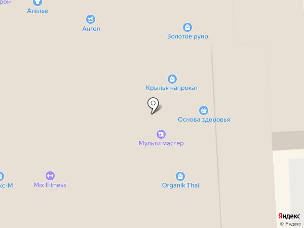 Кошкин дом на карте Красноярска