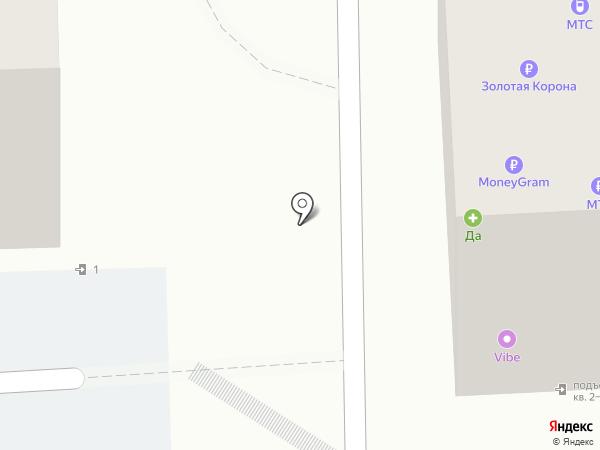 Находка на карте Красноярска