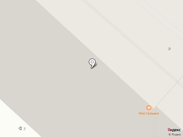 Бакмэн на карте Красноярска