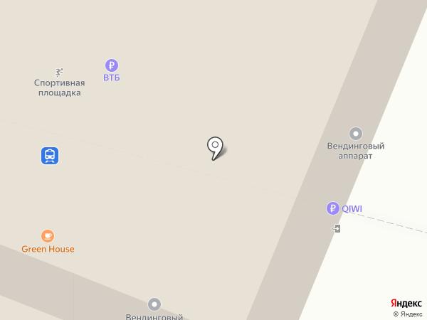 Альянс на карте Красноярска
