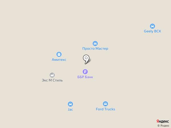 Банкомат, ББР Банк на карте Солонцов