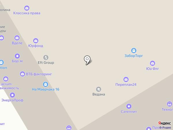 Сибирская кредитно-сберегательная корпорация, КПК на карте Красноярска