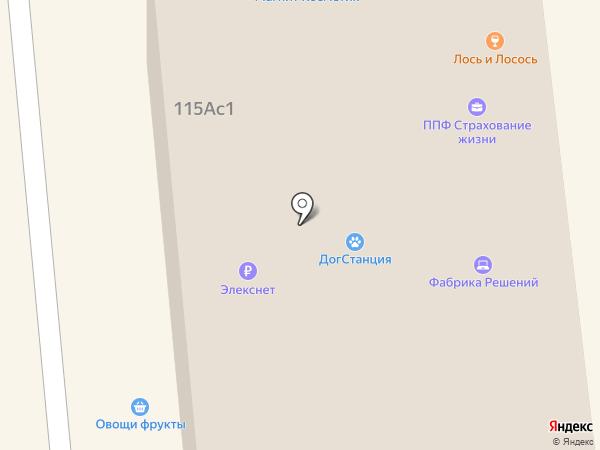 Поздеевка на карте Красноярска