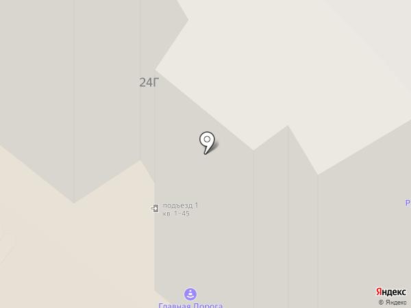 Реал на карте Красноярска