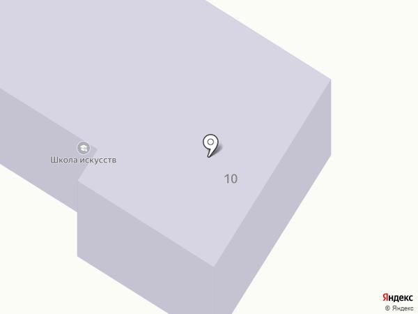 Детская школа искусств на карте Солонцов