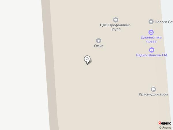 Юридическая компания Мамедовой на карте Красноярска
