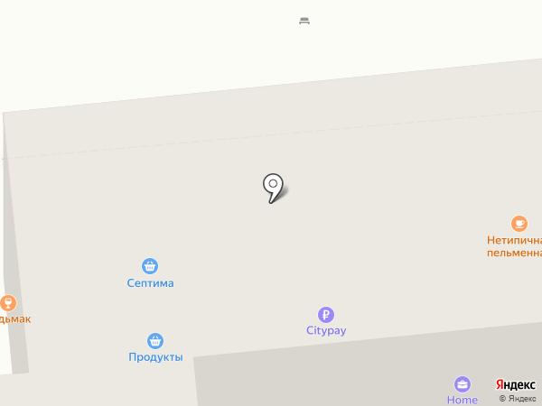 Типичная пельменная на карте Красноярска