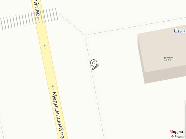 Доро на карте Красноярска
