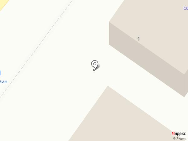 Киоск по продаже фастфудной продукции на карте Солонцов