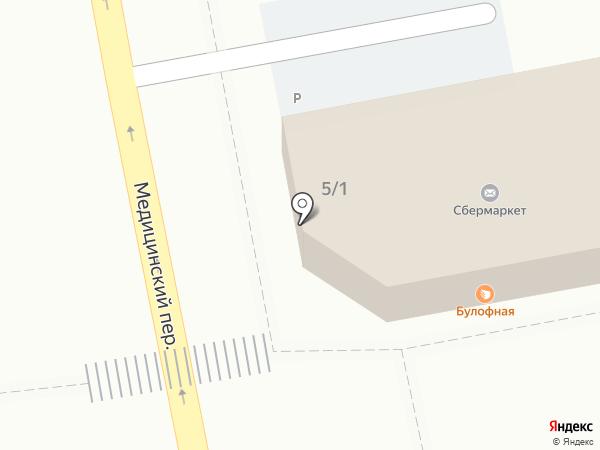 Инмарко на карте Красноярска