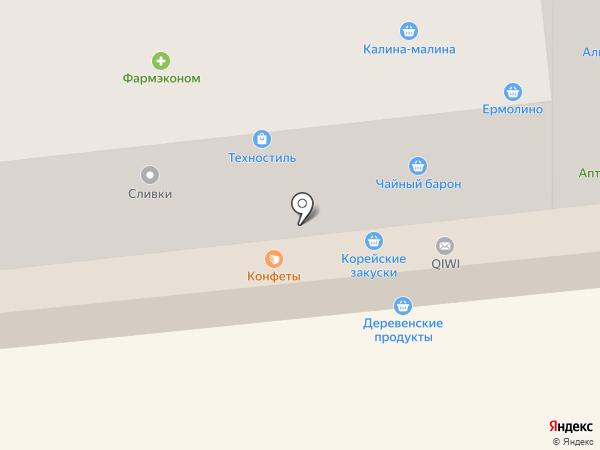 Магазин товаров для рукоделия на карте Красноярска