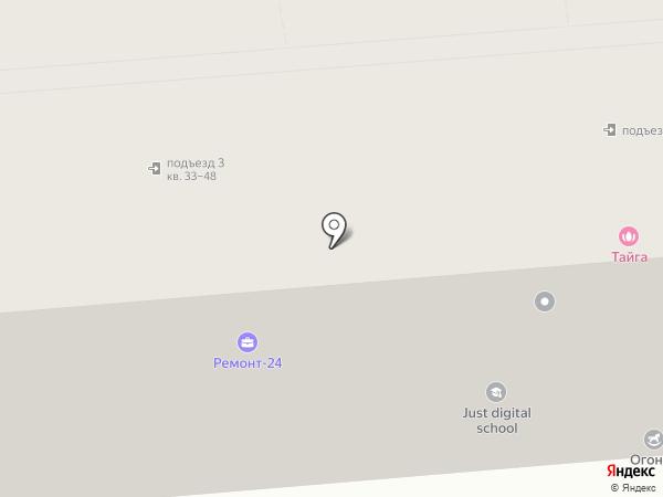 Всё в Красноярске на карте Красноярска