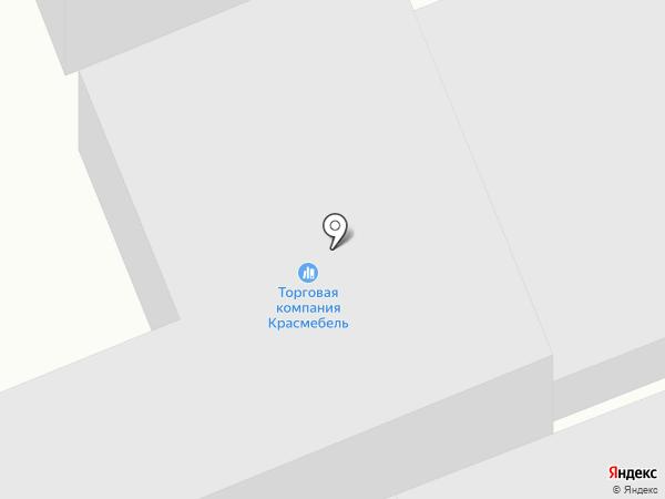 КРАСМЕБЕЛЬ на карте Солонцов
