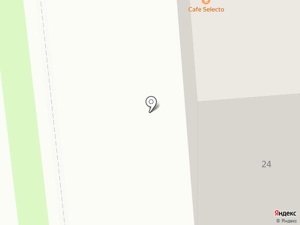 РАКЕТА на карте Красноярска