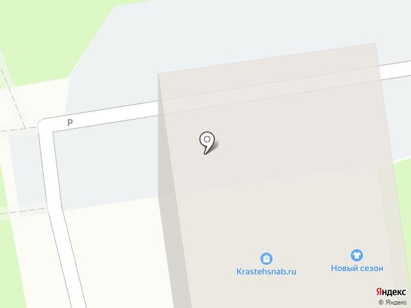 Кемчуг на карте Красноярска