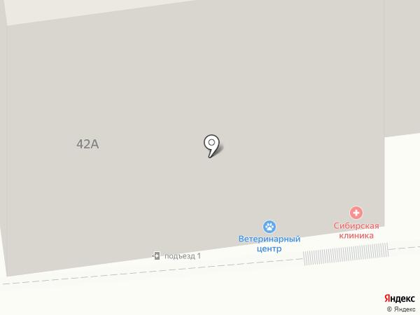 Пиранья на карте Красноярска
