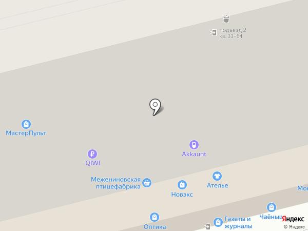 Хвоя на карте Красноярска