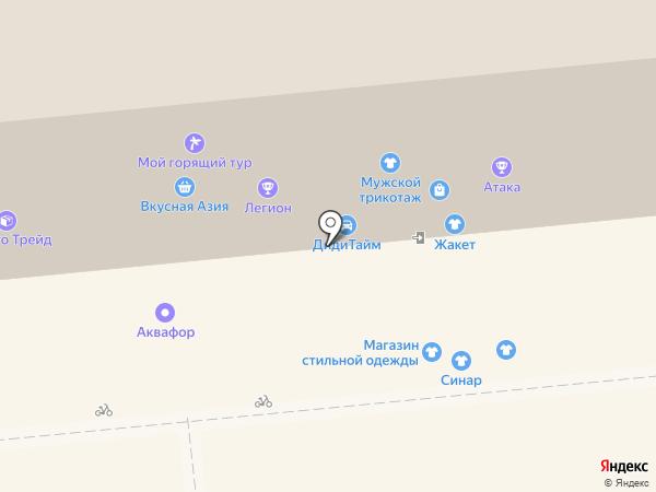 Фэмили на карте Красноярска