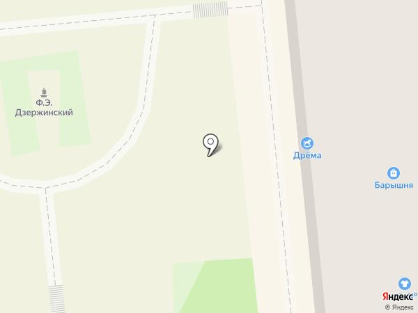STESHA на карте Красноярска