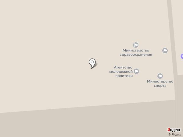 Агентство молодежной политики и реализации программ общественного развития Красноярского края на карте Красноярска
