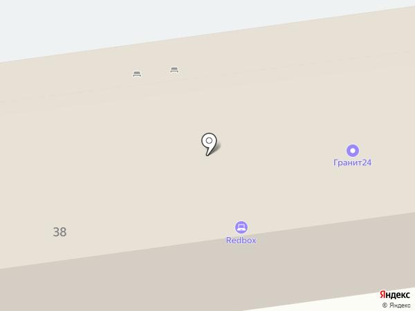 Огнезащита КМД на карте Красноярска