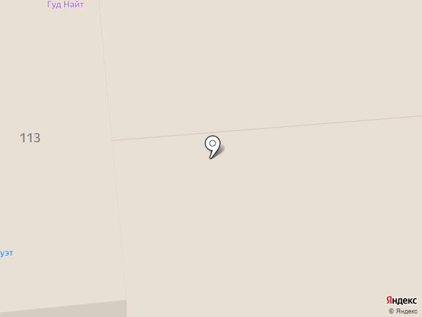 Колибри на карте Красноярска