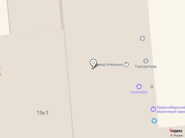 Завод Алёшина на карте Красноярска