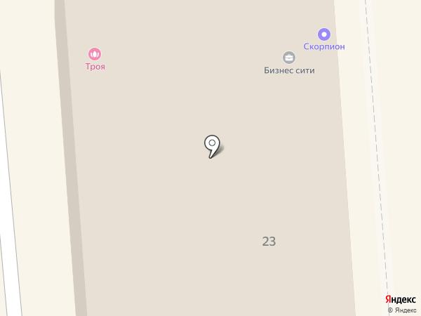 Альбион на карте Красноярска