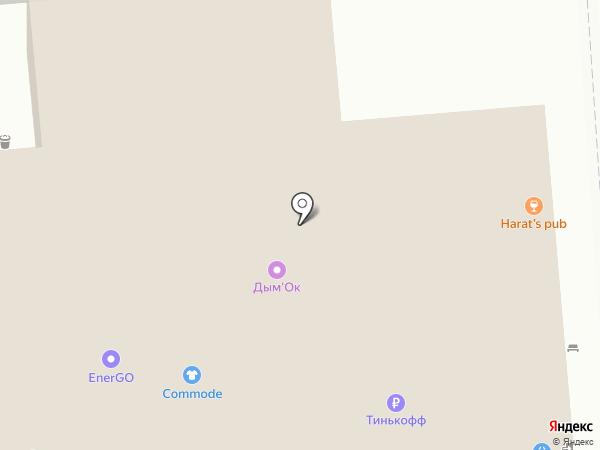 Проспект Мира на карте Красноярска