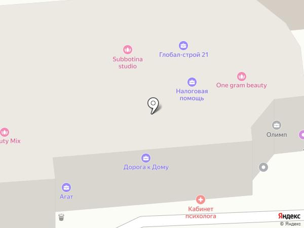 Сибирские маршруты на карте Красноярска