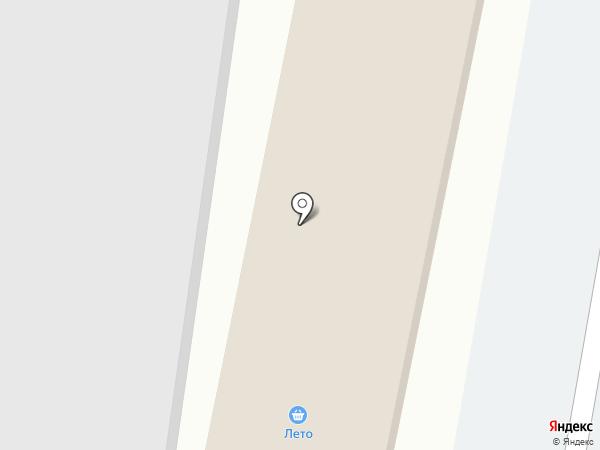 Копеечка на карте Красноярска