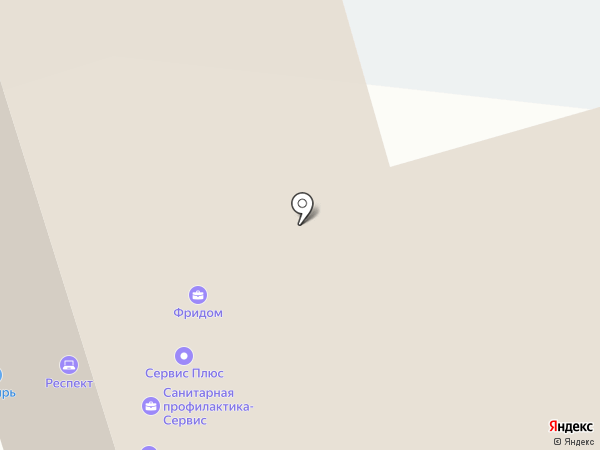 Дубль на карте Красноярска