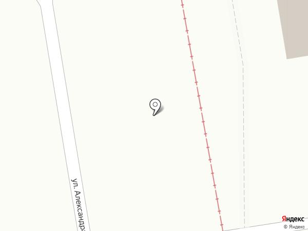 Форвард на карте Красноярска