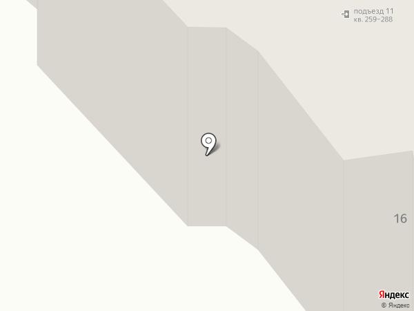 Преображенский на карте Красноярска