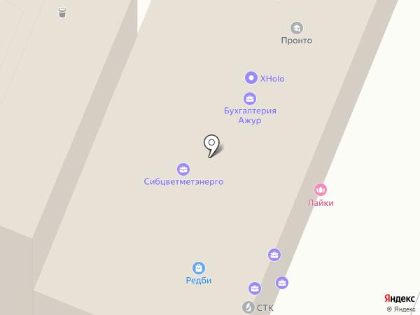 Журавков А.А. на карте Красноярска