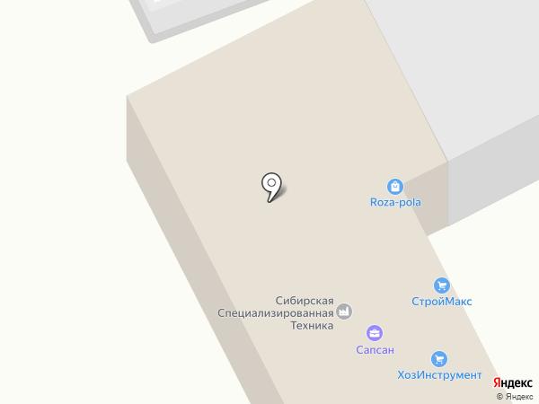 Возимвсе.рф на карте Красноярска