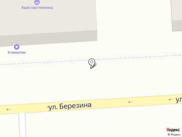 ПРЕДСТАВИТЕЛЬ на карте Красноярска