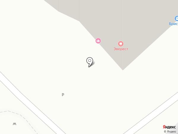 Перфект на карте Красноярска