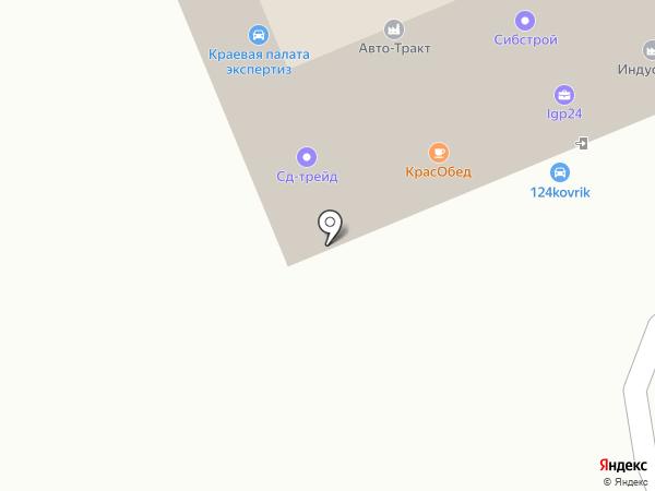 МУЖ НА ЧАС на карте Красноярска