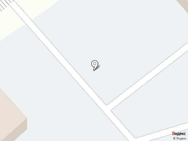 Ангарский дом на карте Красноярска