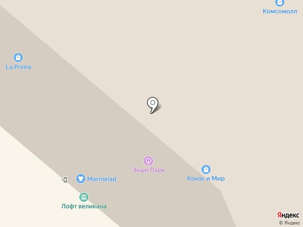 Salon на карте Красноярска
