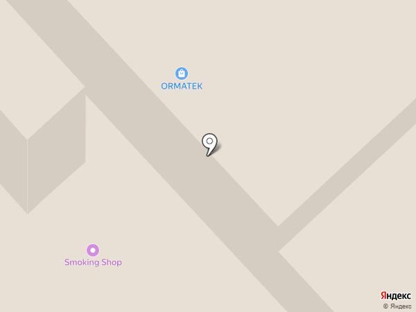 Парикмахерский магазин на карте Красноярска