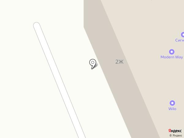 СИБЛЕСТОРГ на карте Красноярска